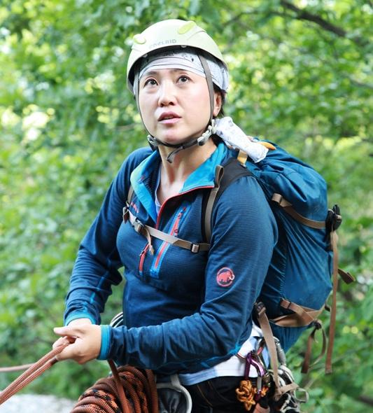 iGuideKorea Guide Meekyung-belaying