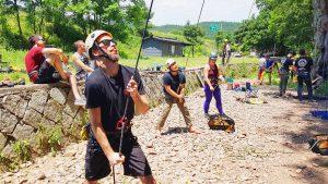 top rope climbing course iguidekorea